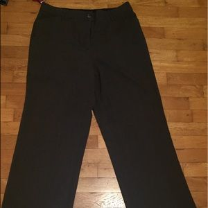 Brand Counterparts woman's dressy wide legged pant